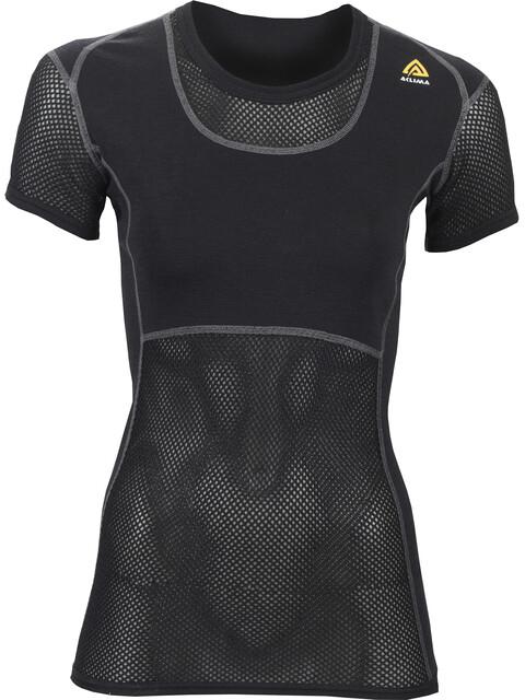 Aclima W's WoolNet T-Shirt Jet Black